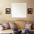 ステンフレーム・シリーズの壁掛け鏡・ウォールミラー