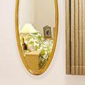 ゴールド色の姿見・姿見鏡