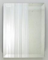 ウェルカムボード・ウエルカムボード:フレームレスミラー レクタングル