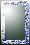 鏡・ミラー・壁掛け鏡・ウォールミラー:yt-w350h450-3k-tr