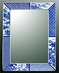 鏡・ミラー・壁掛け鏡・ウォールミラー:yt-w350h450-3k-sz