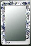 鏡・ミラー・壁掛け鏡・ウォールミラー:yt-w350h450-3k-fj