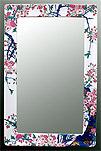 鏡・ミラー・壁掛け鏡・ウォールミラー:yt-w350h450-3k-sa