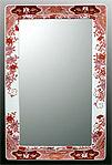 鏡・ミラー・壁掛け鏡・ウォールミラー:yt-w350h450-3k-ts