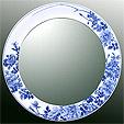 鏡・ミラー・壁掛け鏡・ウォールミラー:yt-w400h400-2.5k-rs