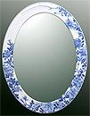鏡・ミラー・壁掛け鏡・ウォールミラー:yt-w430h570-3.6k-rs参考写真