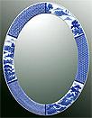 鏡・ミラー・壁掛け鏡・ウォールミラー:yt-w430h570-3.6k-sz参考写真