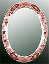 鏡・ミラー・壁掛け鏡・ウォールミラー:yt-w430h570-3.6k-ts参考写真