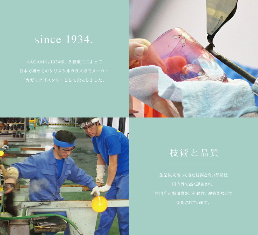 since1934,技術と品質