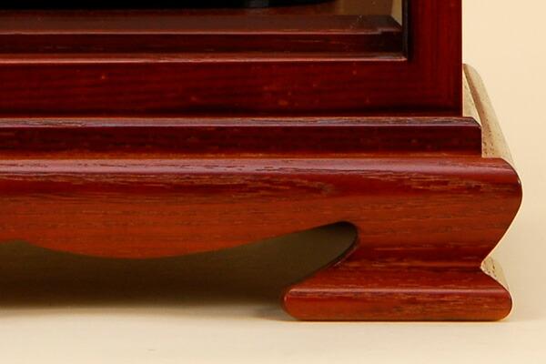 飾り房・銘木たもケース
