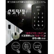 【電気錠】後付け電気錠 AEGIS GATE (イージスゲート)