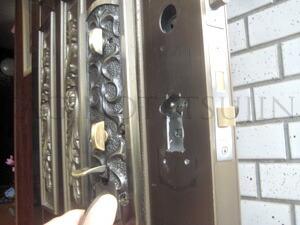 ALPHA装飾錠の取付3