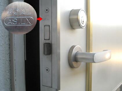 ドアの刻印 GOAL AS.LX