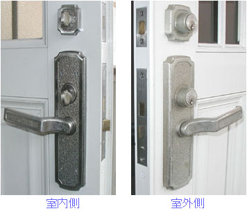 WEST装飾錠のドア