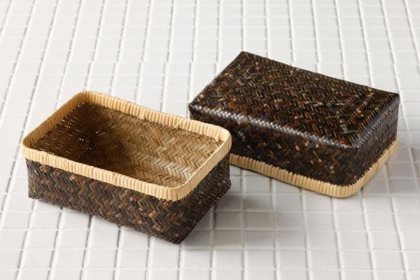 黒竹 弁当箱(小)