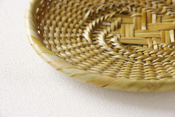 白竹 蕎麦ざる(戸隠風) 直径約24cm