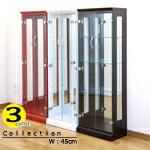 コレクションケース コレクションボード ガラスケース ディスプレイ コレクション収納 フィギュアケース 45幅