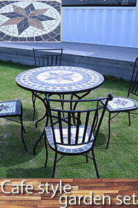 ガーデン テーブル セット ダイニングテーブルセット ガーデンテーブルセット 庭 プール テーブルセット ベランダ 4人掛け カフェ風