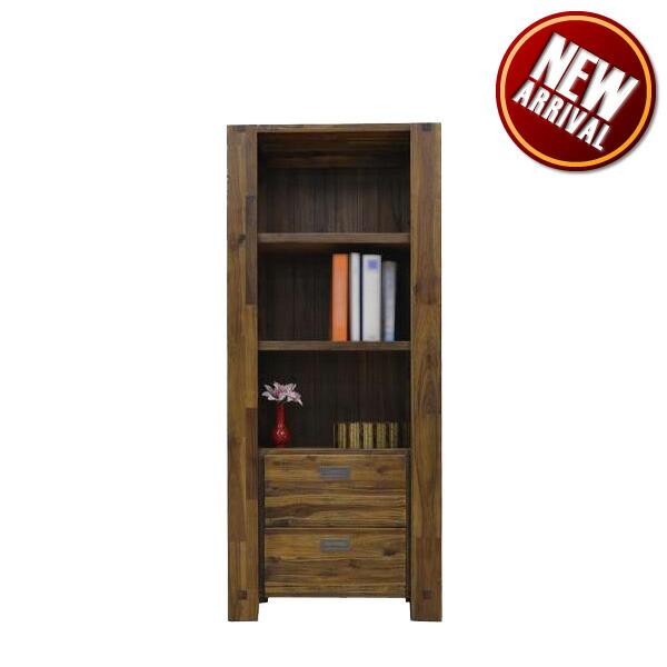 本棚 収納棚 幅75 フリーボード 書棚 飾り棚 コレクション 書斎 リビングボード 木製 完成品 家具通販 大川家具