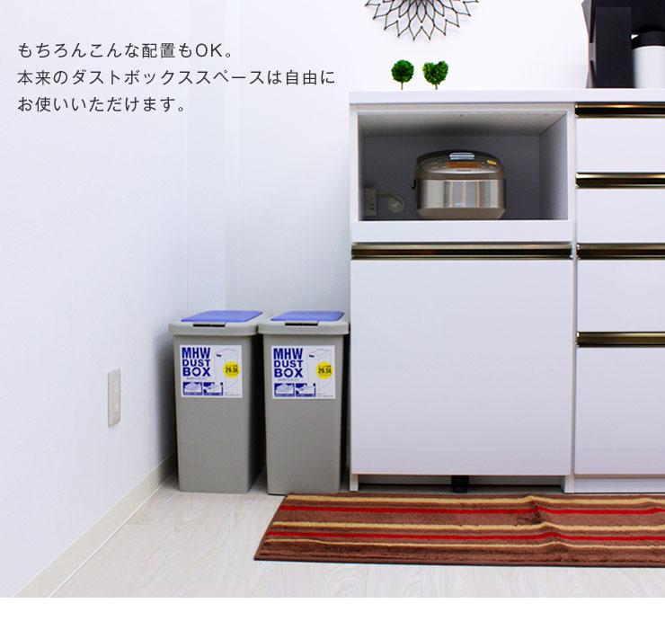 ゴミ箱付き ダストボックス カウンター