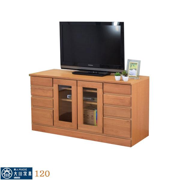 テレビ台 テレビボード TVボード ローボード 120幅 幅120cm TV台 AV収納 AVラック テレビラック AV収納家具 引出し 移動棚 北欧 シンプル モダン