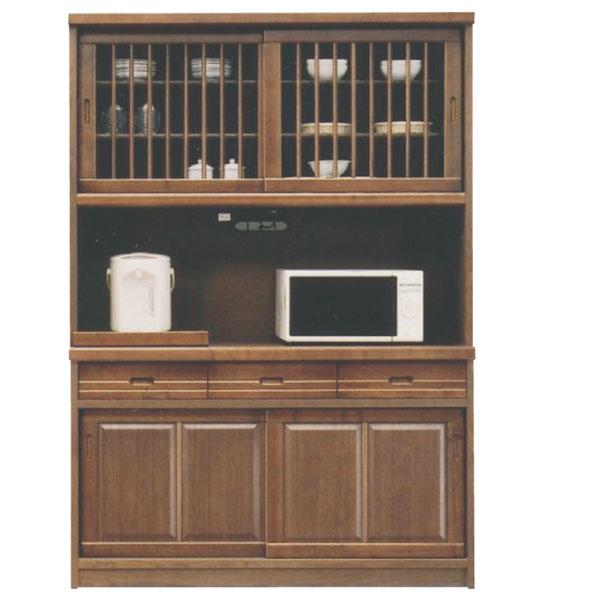 レンジ台 食器棚 オープンダイニング レンジボード キッチンボード 幅135cm オープンボード キッチン収納 キッチン家電収納 引出し 箱組 日本製 和風 モダン