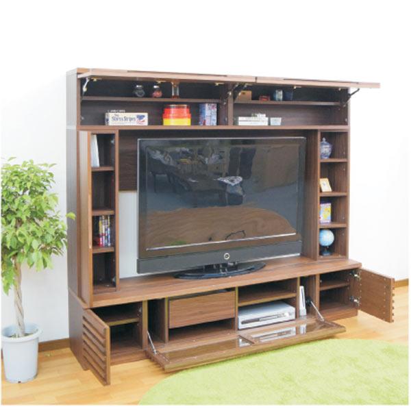 テレビ台 テレビボード TVボード ハイタイプ 200幅 幅200cm TV台 AV収納 AVラック テレビラック AV収納家具