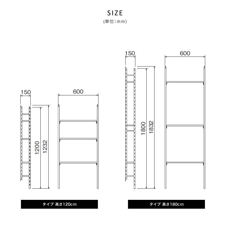 壁面収納 薄型 シェルフ オープン スチール スリム 収納 ハンガーラック オープンラック インダストリアル