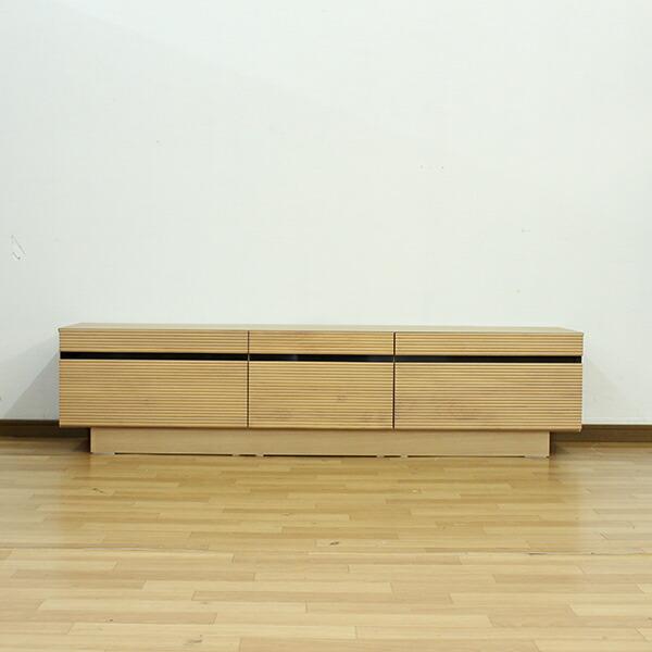 テレビ台 ローボード テレビボード 幅150cm 高さ30cm お掃除ロボット対応 選べる2色 ナチュラル ブラウン 木製 リビング収納 北欧風 シンプルでおしゃれなデザイン