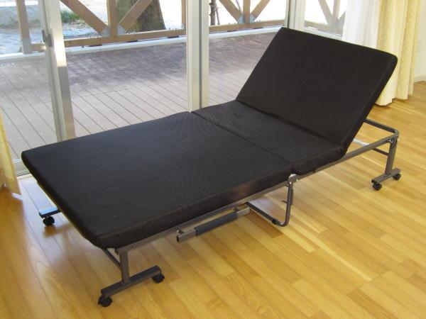 楽天市場】【送料無料】組立不要 完成品 折りたたみベッド