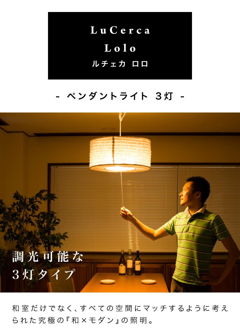 ペンダントライト3灯