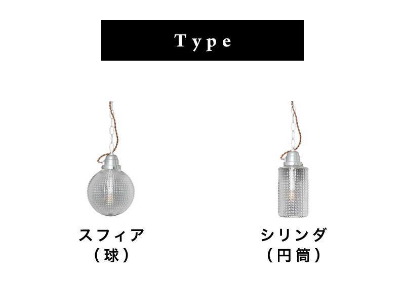 スフィア(球)とシリンダー(円筒)