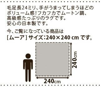 高級感たっぷり 日本製 ラグ マット カーペット