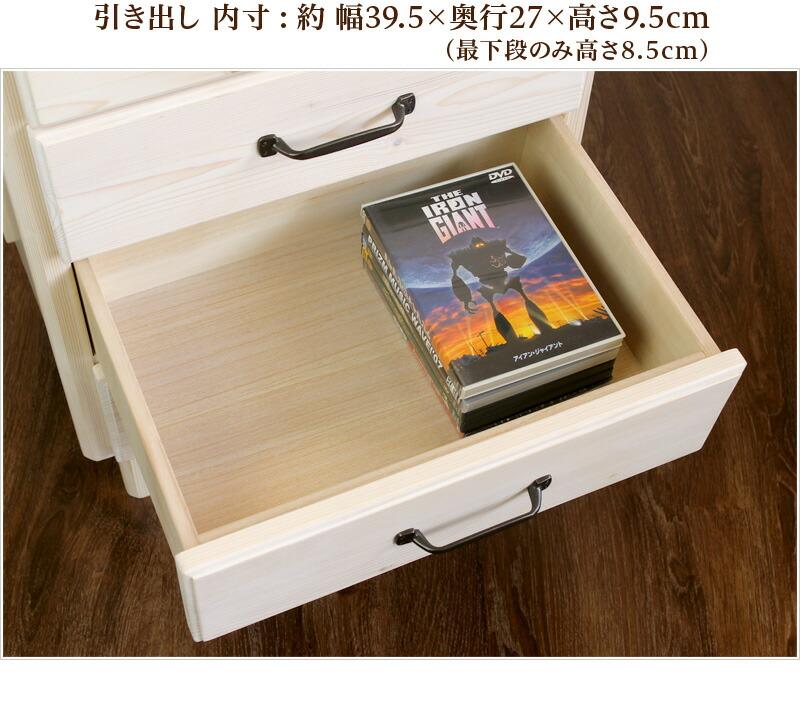 カントリー調家具シリーズ サイズ表記2