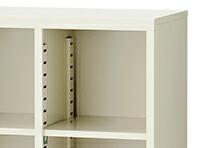 SF-SBK9:オープン可動棚収納ボックス 3列3段9人用