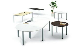 エランサ 角型ミーティングテーブル設置例