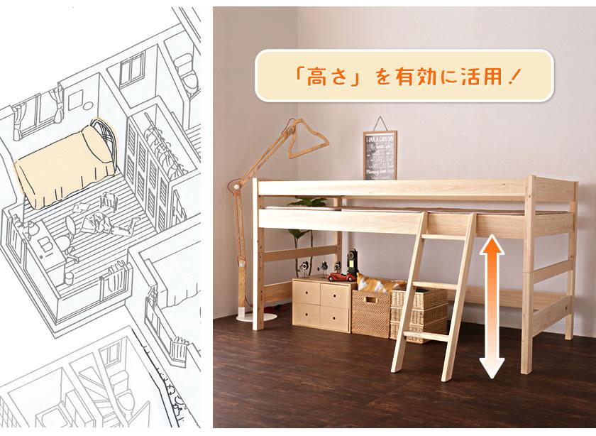 限りあるお部屋スペースを有効活用 収納スペース