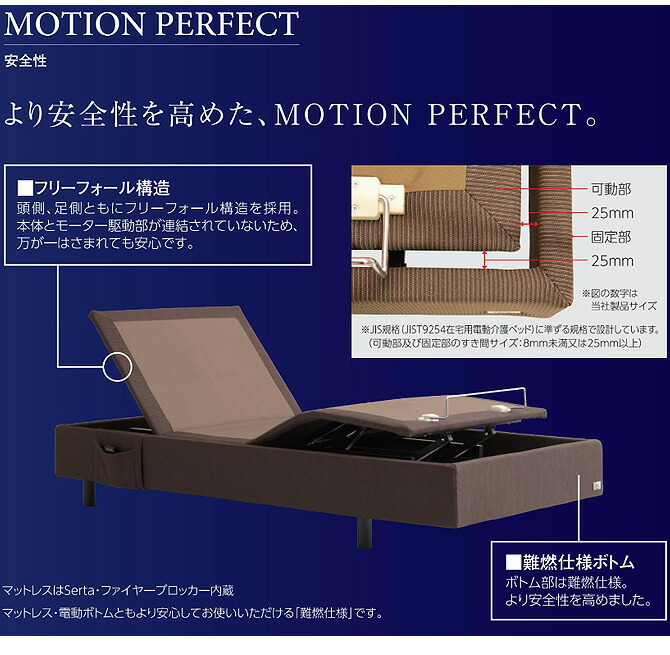 Serta サータ 「MOTION PERFECT 554」 モーションパーフェクト 554 SD セミダブル