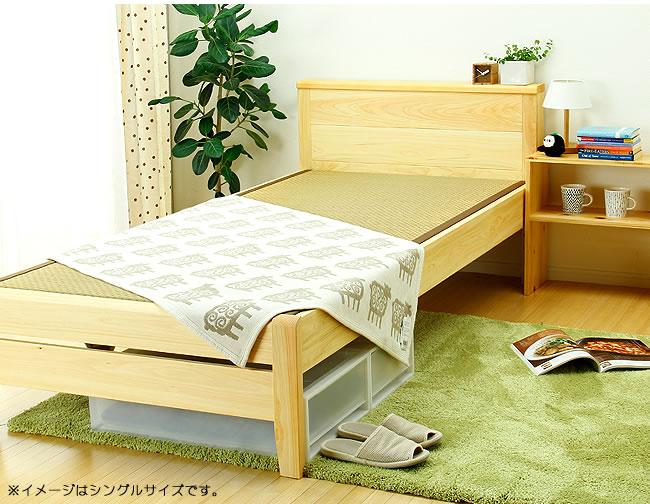 国産畳ベッド_ひのき無垢材を贅沢に使用した木製畳ベッド_01
