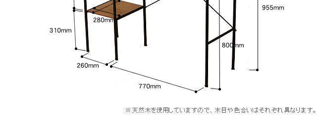 パソコンデスク_立っても座っても気軽に使えるカウンターテーブル-11