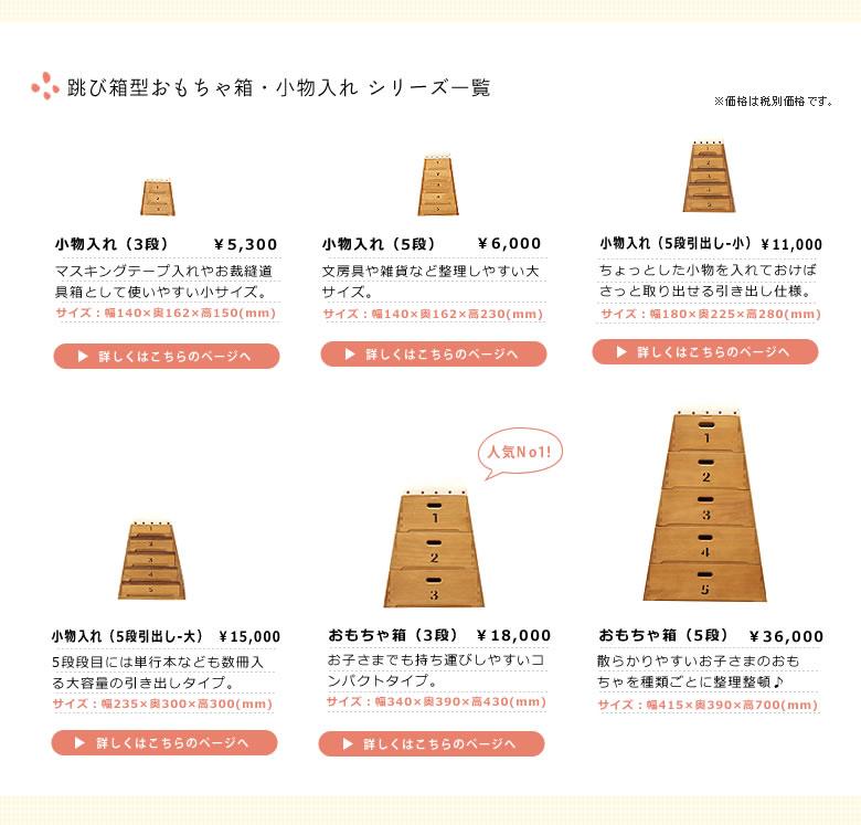 跳び箱おもちゃ箱(3段)08