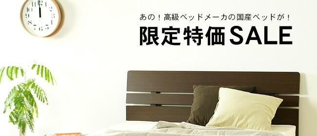フランスベッド社の国産すのこベッド01