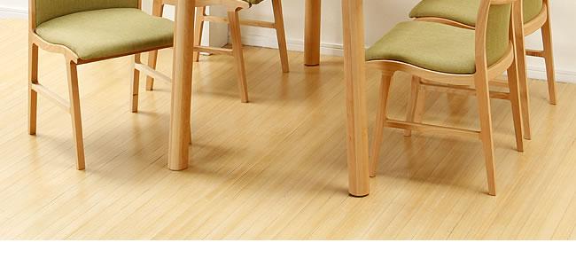 ダイニング_メープル材の質感が爽やかな木製ダイニングテーブル_02
