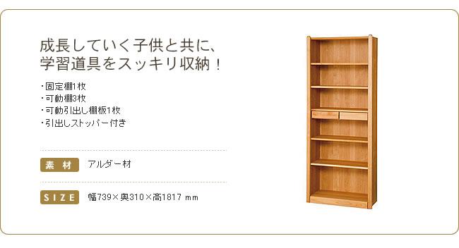 木のぬくもりあるロー書棚_02