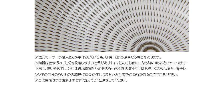 蔵人窯(くらんどがま)_平皿トビカンナ_11