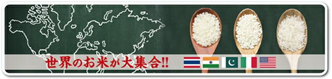 世界のお米
