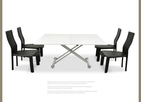 リフティングテーブル ダイニングイメージ