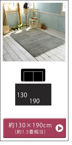 フランネルマット130×190cm