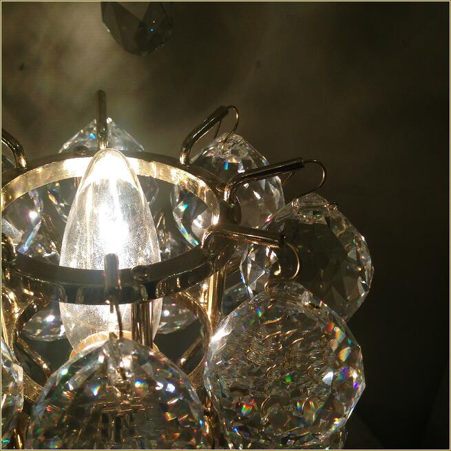 クリスタルガラス照明