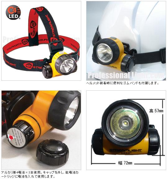 StreamLight(ストリームライト)、ヘッドランプ、ヘッドライト